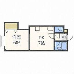 三進栄通マンション[4階]の間取り