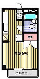 メゾングリーンライフ[2階]の間取り