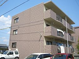 静岡県浜松市浜北区中条の賃貸マンションの外観