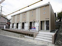 福岡県飯塚市有井の賃貸アパートの外観