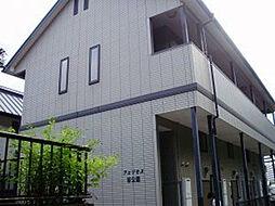 福岡県福岡市中央区輝国2丁目の賃貸アパートの外観
