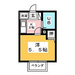ジョワセジュール[2階]の間取り