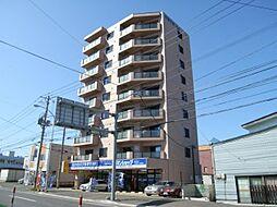 北海道札幌市清田区真栄一条1丁目の賃貸マンションの外観