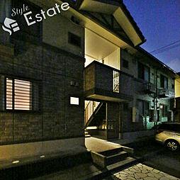 愛知県名古屋市緑区鳴海町字山腰の賃貸アパートの外観