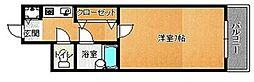 荒江四つ角ビル[307号室]の間取り