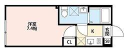 エスグランデ[3階]の間取り