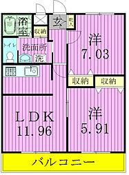 t.m.placeI[3階]の間取り