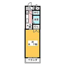 コトーヒロ[2階]の間取り