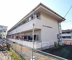 京都府城陽市平川車塚の賃貸アパートの外観