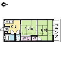 中塚マンション[2-8号室]の間取り