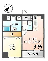 YOSHINO SQUARE[7階]の間取り