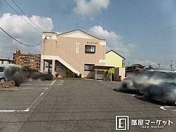 愛知県岡崎市上和田町字切戸の賃貸アパートの外観