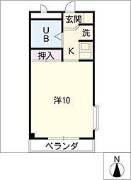 グリーンヒル榊原[1階]の間取り