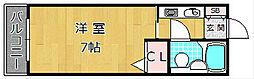 エム・ケイ3枚方公園[2階]の間取り