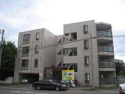 北海道札幌市清田区清田二条2丁目の賃貸マンションの外観