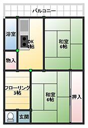 姫路市大津区天満951-1[103号室号室]の間取り