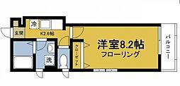 KIHACHI RESIDENCE[2階]の間取り