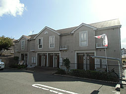 福岡県北九州市小倉南区上吉田2丁目の賃貸アパートの外観