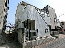 埼玉県草加市弁天6丁目の賃貸アパートの外観