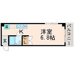 ソミュール甲子園口[3階]の間取り