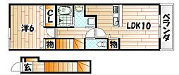 KEI HOUSEII[2階]の間取り