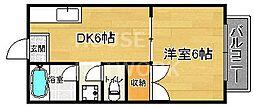 GANESHA994[302号室号室]の間取り