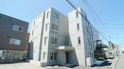 北海道札幌市白石区南郷通16丁目北の賃貸マンションの外観