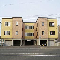 北海道札幌市厚別区厚別東四条6丁目の賃貸アパートの外観