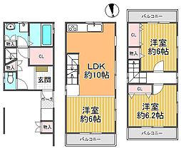 北野田駅 1,898万円