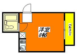 永和ビル 306号室[3階]の間取り