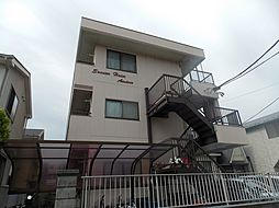 埼玉県草加市弁天1丁目の賃貸マンションの外観