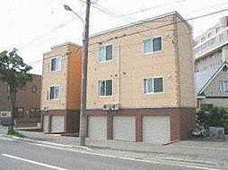 北海道札幌市西区発寒六条4の賃貸アパートの外観