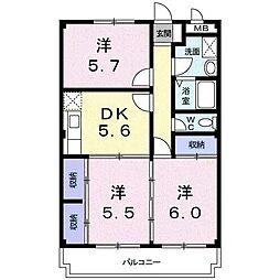 ファミーユI[2階]の間取り