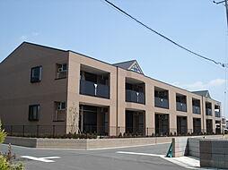 茨城県つくば市研究学園3丁目の賃貸アパートの外観