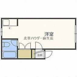 第2中野コーポ[2階]の間取り