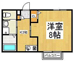 セレステ志木B号棟[2階]の間取り