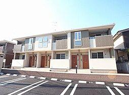 千葉県我孫子市下ヶ戸の賃貸アパートの外観