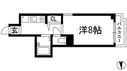 ディアコート川西 (II番館)[5階]の間取り