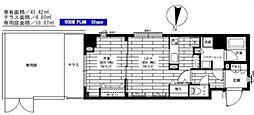ステージグランデ多摩川 bt[101kk号室]の間取り