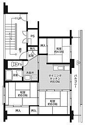 東花輪駅 3.6万円