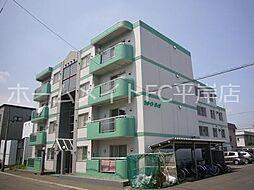 北海道札幌市豊平区美園八条5丁目の賃貸マンションの外観