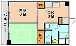 プラムハーバー[3階]の間取り