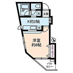 ドエル小竹向原[2階]の間取り