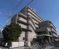京都府京都市南区東九条北松ノ木町の賃貸マンションの外観