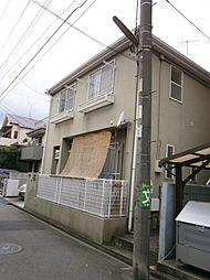 神奈川県川崎市中原区井田中ノ町の賃貸アパートの外観