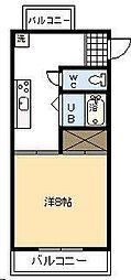 第2重永マンション[A305号室]の間取り