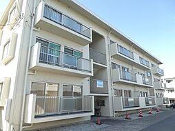 兵庫県明石市魚住町清水の賃貸マンションの外観