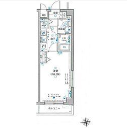 リガーレ新板橋[1階]の間取り