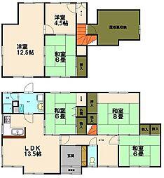 [一戸建] 北海道小樽市清水町 の賃貸【北海道 / 小樽市】の間取り