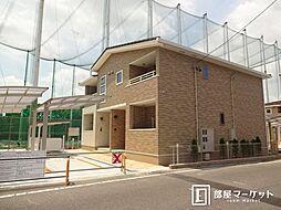 愛知県豊田市朝日ケ丘4丁目の賃貸アパートの外観